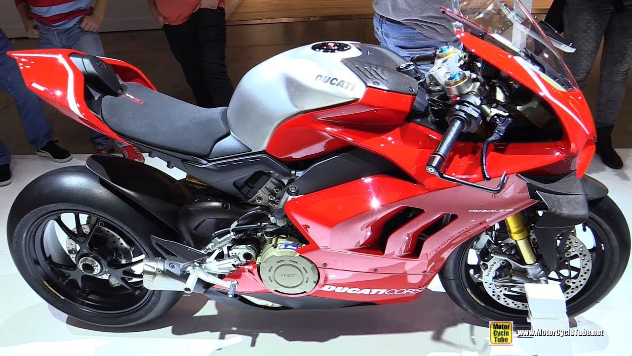 2019 Ducati Panigale V4 R 221hp 172kg Walkaround Debut At 2018