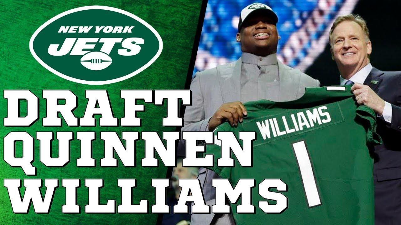 Jets First Round Pick #3   Quinnen Williams   DT - Alabama