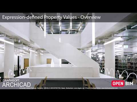 ARCHICAD 22 - Expression Defined Property Values - Overview
