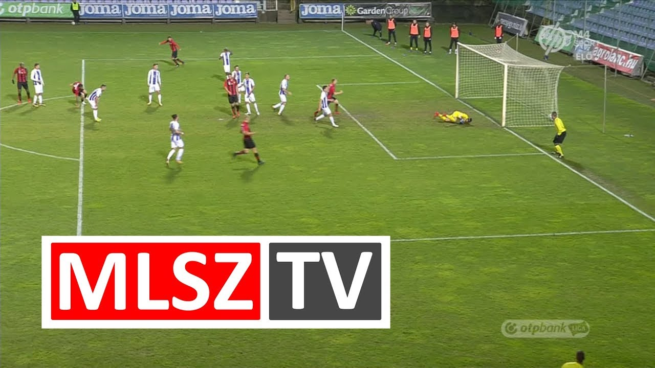 Lanzafame Davide gólja az Újpest FC – Budapest Honvéd mérkőzésen