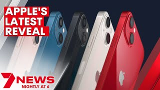 Apple unveils new iPhone 13 at latest tech launch   7NEWS