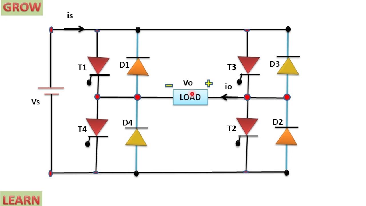 Single Phase Full Bridge Inverter  U0939 U093f U0928 U094d U0926 U0940