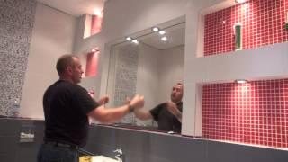 ванная комната в Латвии Рига . Kerama Marazzi \BRIGADA1.LV(, 2014-03-28T16:10:21.000Z)