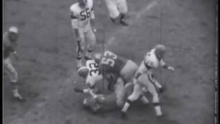 1964 Lions at Browns Game 10 Film Clips