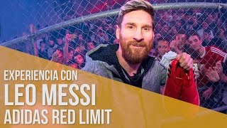 Experiencia con Leo Messi // adidas Red limit