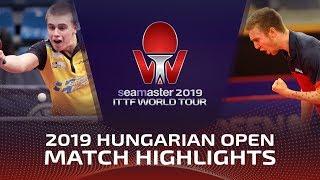 Truls Moregard vs Florent Lambiet | 2019 ITTF World Tour Hungarian Open Highlights (Pre)
