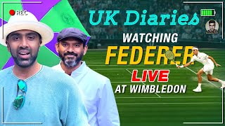 Enthralling experience of watching Roger Federer Live at Wimbledon | UK Diaries | VLog