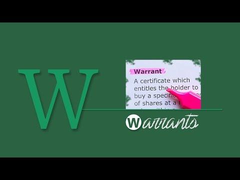 A-Z of Stock Markets: Warrants