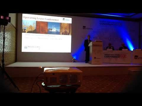 Bob Rinaldi Presenting at Sudhir Amembal's Operating Lease Conference in Istanbul, Turkey