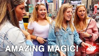 10 Street Magic Tricks in New York City | How To Magic