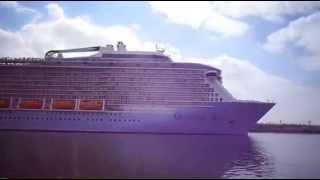 قناة السويس الجديدة : حدث تاريخى بقناة السويس عبور اكبر سفينة ركاب فى العالم مايو2015