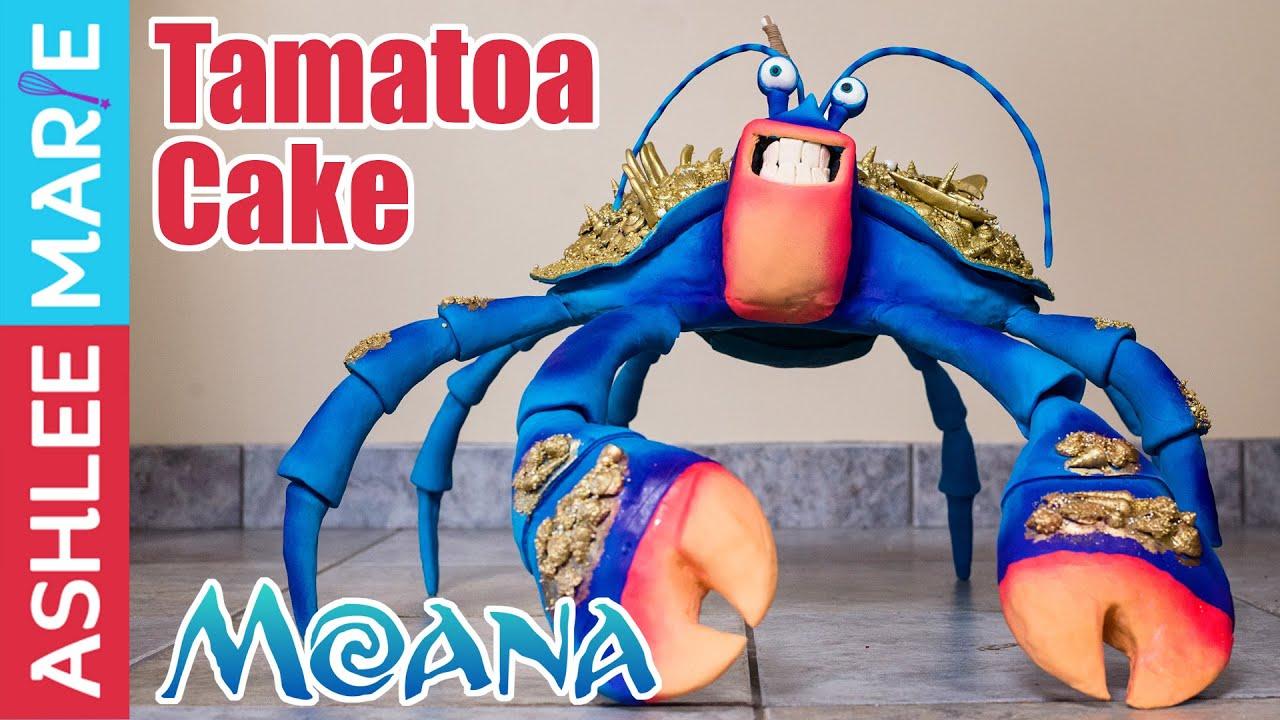 How To Make A Giant Tamatoa Cake From Disneys Moana