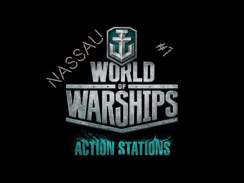 World of Warships - Nassau #1 - Die Deutschen Schlachtschiffe sind da! [Deutsch] [HD]