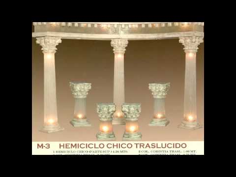 Columnas para decorar salones youtube - Columnas decoracion interiores ...