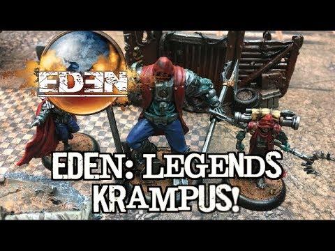 EDEN The Game Battle Report - EDEN Legends: Krampus!
