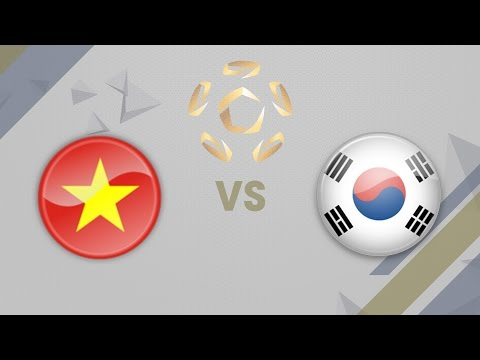 [01.04.2017] VietNam vs Korea [The Intercontinentals 2017]