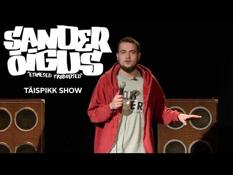 """Sander Õigus - """"Esimesed Triibulised"""" (TÄISPIKK SHOW)"""
