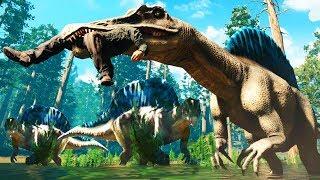 hora de cazar al nuevo spinosaurio collision course
