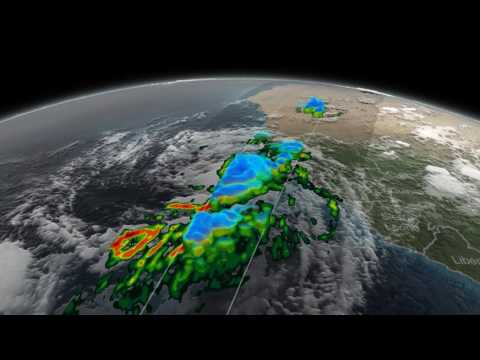 NASA's 3-D GPM Flyby of Tropical Storm Fred