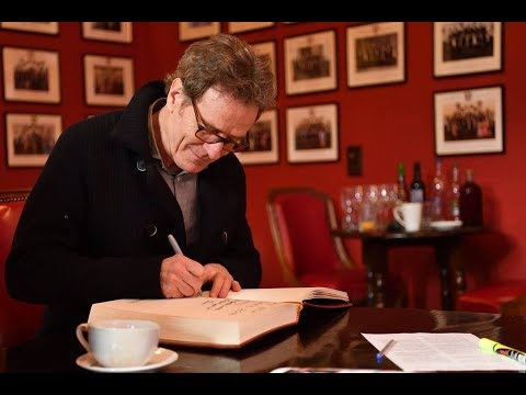 Bryan Cranston | Cambridge Union