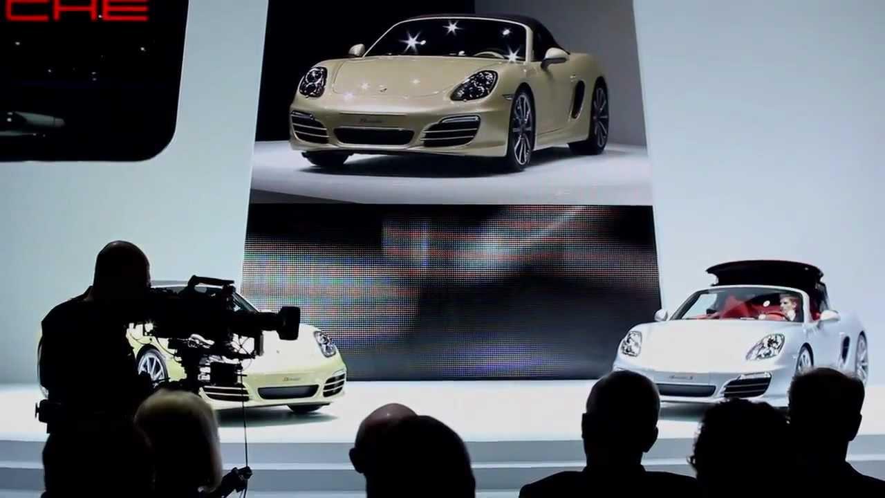 Geneva 2012: The World Premiere of the new Porsche Boxster ...