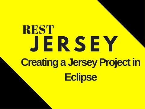 #1 Restful Web Services Tutorial | Creating A Jersey Project In Eclipse