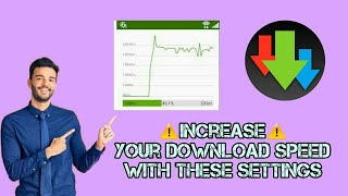 Advanced Download Manager best settings :How to increase your download speed screenshot 1