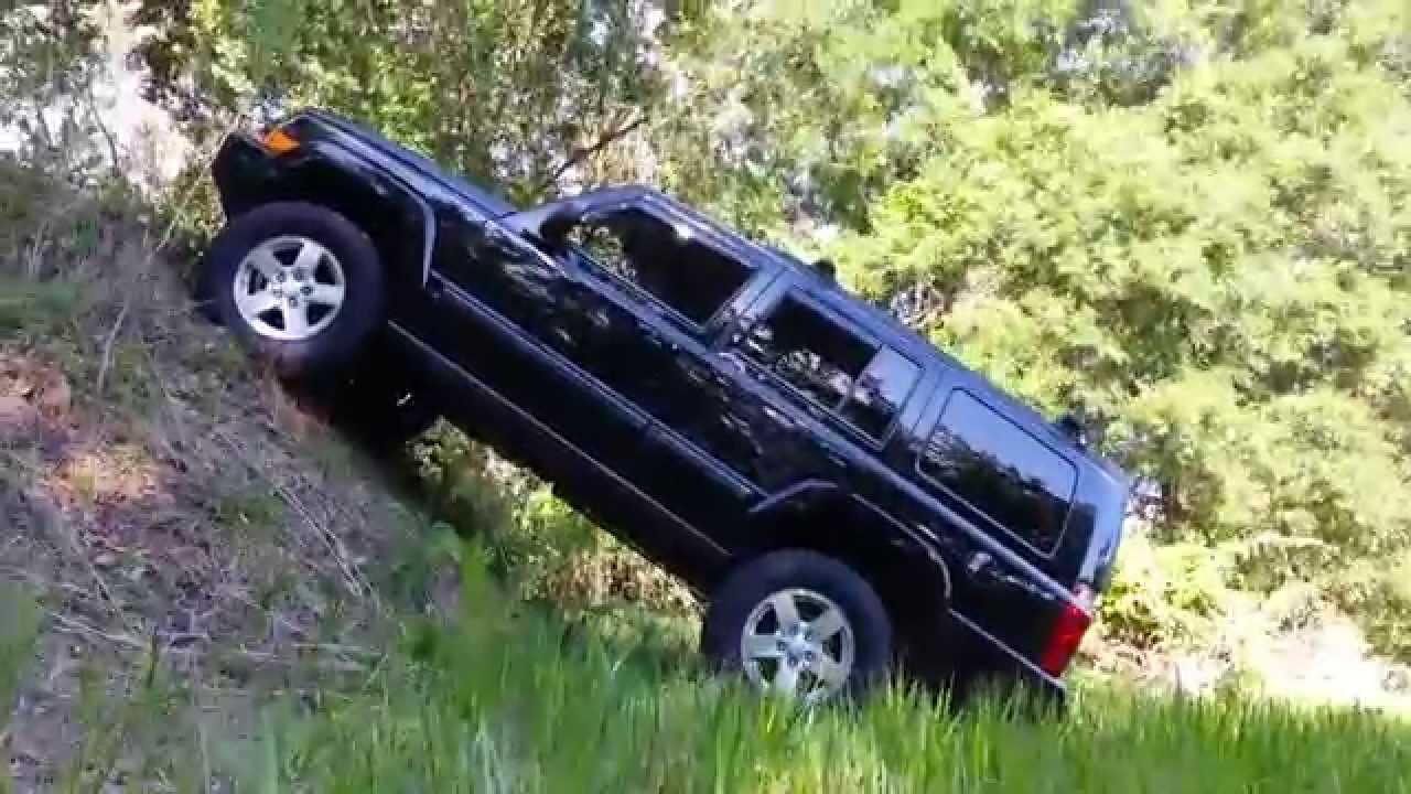 jeep commander lift it film - youtube