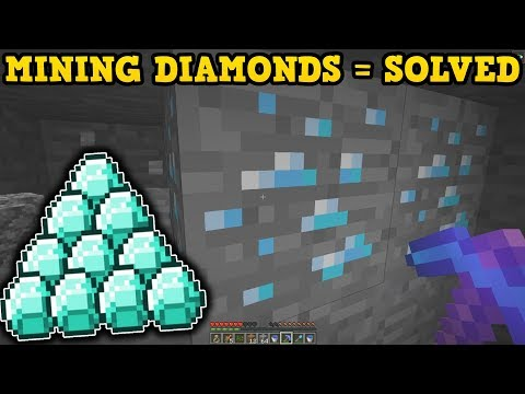 Minecraft How To Find Diamonds (NEW METHOD)