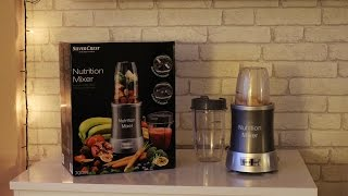 LIDL - blender Nutrition Mixer 700W Silver Crest - TEST
