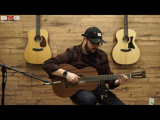 AMI (Sigma) 00M15S Acoustic Guitar Overview