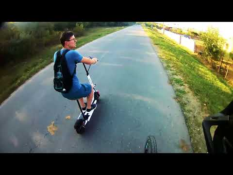 Scooter & Mountain Bike Ride