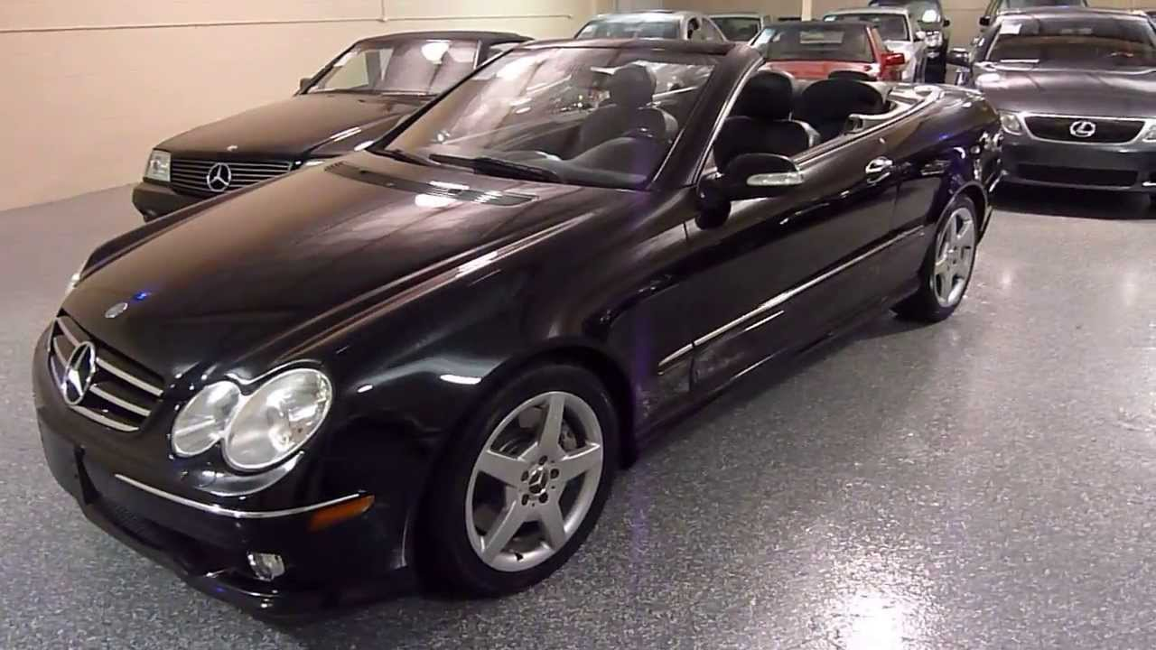2006 mercedes benz clk500 2dr cabriolet 5 0l sold 2308 plymouth mi 48170 youtube