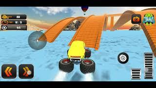 Monster Truck Water Surfing Truck Racing Games