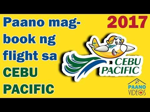 PAANO MAG - BOOK NG FLIGHT SA CEBU PACIFIC / HOW TO BOOK A  FLIGHT WITH CEBU PACIFIC ONLINE
