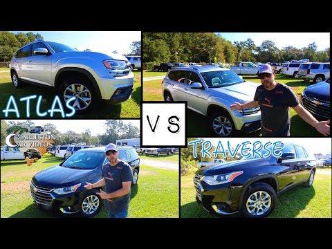 2018 VW ATLAS vs 2018 CHEVY TRAVERSE | REVIEW - Exterior, Interior & Pricing
