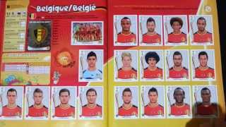 MY PANINI ALBUM WORLD CUP BRASIL 2014