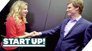 In 30 Sekunden überzeugen: Mit Carsten Maschmeyer im Aufzug | Start Up! | SAT.1 TV