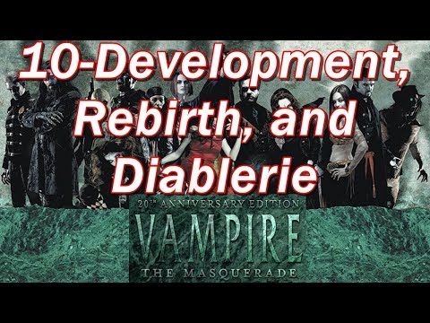 Vampire the Masquerade | VtM Episode 10 | Character Development, Rebirth, and Diablerie