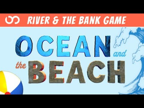 ☀️ Summer PE Games ☀️ The River and the Bank: Ocean & Beach - Brain Break | Kids Fitness