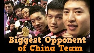 Biggest Opponent for China Team in WTTTC 2018