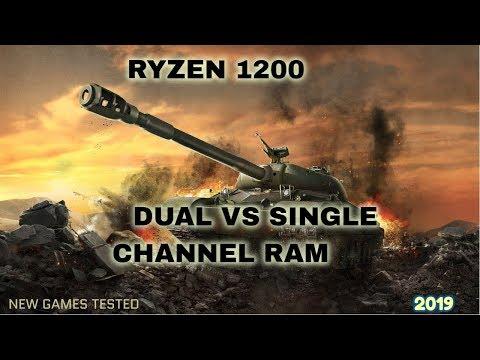 Dual channel vs