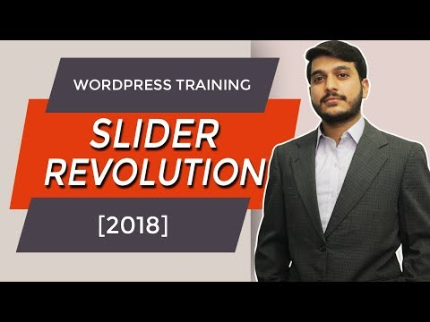 Slider Revolution 5 Wordpress Tutorial in Urdu & Hindi [2018]