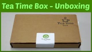 Tea Time Box - Subscription Unboxing!