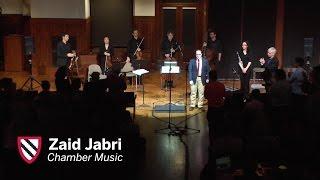 Zaid Jabri  | Chamber Music || Radcliffe Institute