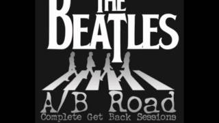 The Beatles -  Lennon jokes/sings Maxwell's Silverhammer