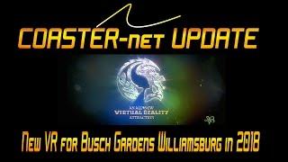 COASTER-net Update: Busch Gardens Williamsburg Gets New VR in 2018