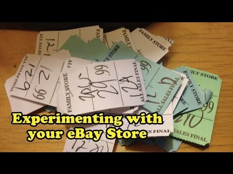 Scavenger Life Episode 290: Experimenting with your eBay Store