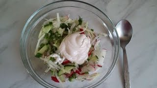 How To Prepare A Vegetable Salad With Kohlrabi - Diy Food & Drinks Tutorial - Guidecentral