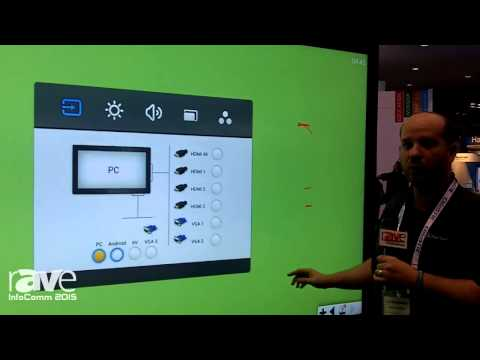 InfoComm 2015: Clear Touch Interactive Showcases 98-Inch Ultra HD 4K Screen With 10 Point Touch
